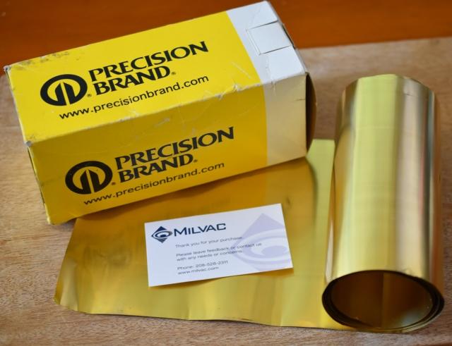 Brass Shim Roll